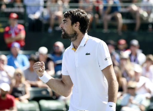 Tennis: Chardy va défier Federer à Indian Wells