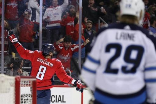 NHL - Washington: Ovechkin dans le club des joueurs à 600 buts