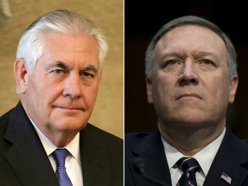 Trump écarte son chef de la diplomatie et le remplace par le patron de la CIA