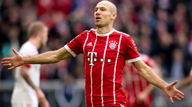 Ligue des champions: Arjen Robben manquera le match retour face au Besiktas