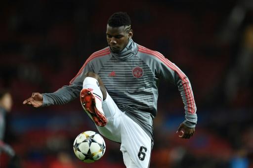 Ligue des champions: Manchester United avec Pogba sur le banc contre Séville