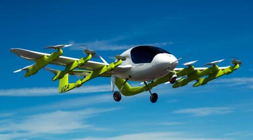 Le gourou de Google teste des taxis volants en Nouvelle-Zélande