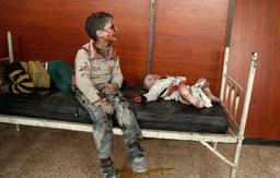 Conflit en Syrie - L'armée syrienne pénètre dans une ville clé de la Ghouta