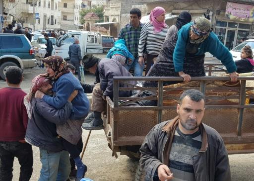Syrie: 30.000 civils ont fui les bombardements turcs sur Afrine en 24H (ONG)