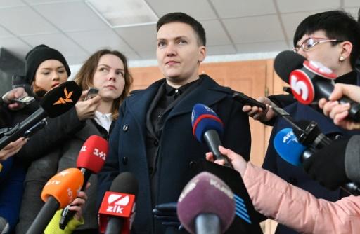 Ukraine: l'ex-pilote Savtchenko accusée d'avoir préparé un attentat