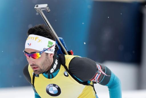 Biathlon: pas trop de dégâts pour Fourcade