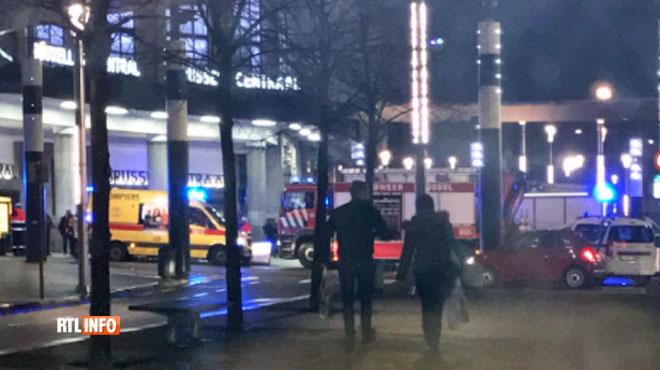 Une personne a été heurtée par un train à la gare de Bruxelles-Central