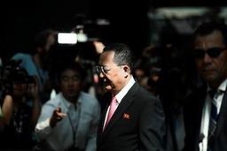 Le chef de la diplomatie nord-coréenne en Suède dans un climat de détente