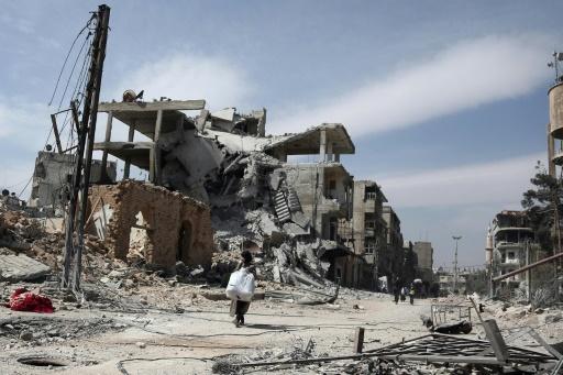 Syrie: 10 civils tués dans des raids sur le fief rebelle dans la Ghouta
