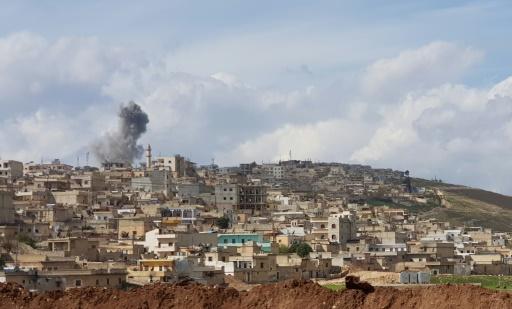 Syrie: des civils utilisés comme