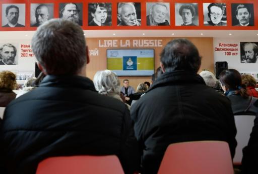 Boycott du Pavillon russe du Salon du livre Paris: