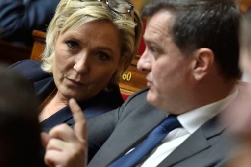 Marine Le Pen trouve