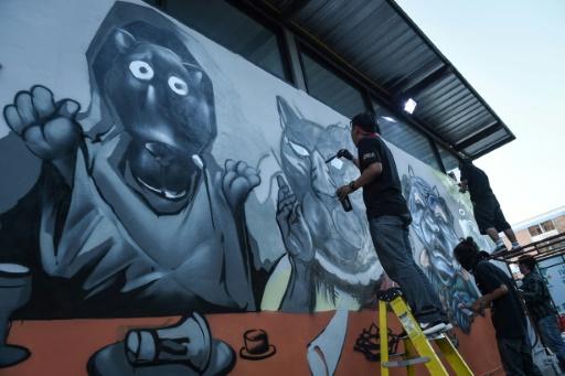 En Thaïlande, le street art à la rescousse des panthères et de la contestation