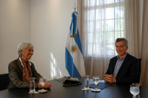 Argentine: Christine Lagarde soutient les réformes du président Macri