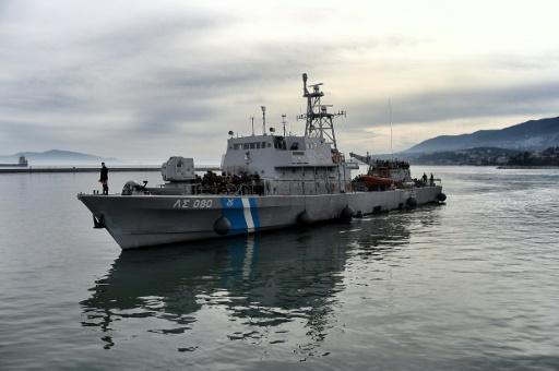 Grèce: 14 morts dans un naufrage