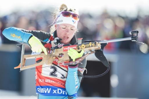 Biathlon: Marie Dorin est