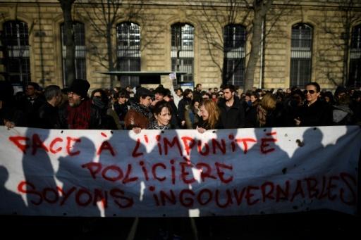 2.000 personnes défilent à Paris contre les violences policières et les discriminations