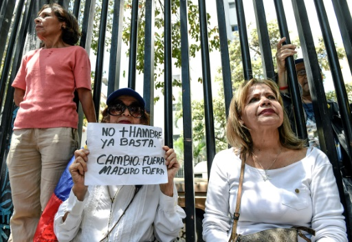 Venezuela: l'opposition proteste contre la présidentielle anticipée