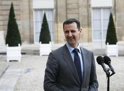 Conflit en Syrie - Al-Assad auprès de ses troupes dans la Ghouta, qu'il félicite pour avoir
