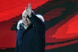 Election présidentielle russe - Poutine analyse sa large victoire comme un signe de