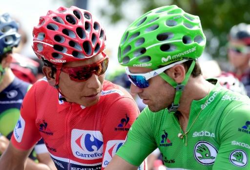 Tour de Catalogne: Valverde et Quintana unissent leurs forces