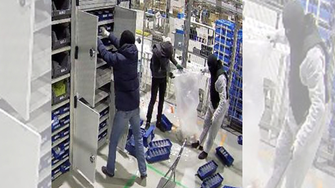 Des individus lourdement armés volent des bijoux et des téléphones dans une entreprise à Liège: avez-vous des informations sur cette affaire?
