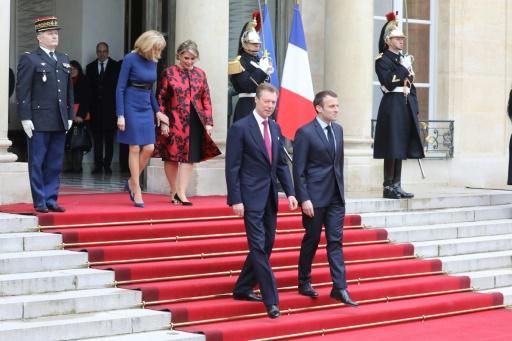 Première visite d'Etat à Paris du grand-duc du Luxembourg depuis 40 ans