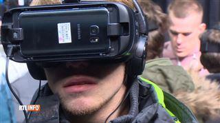 La réalité virtuelle pour prévenir des risques ferrovaires- Infrabel vous plonge en plein accident de train 5