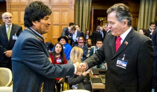 CIJ: la Bolivie se bat avec le Chili pour un accès à la mer