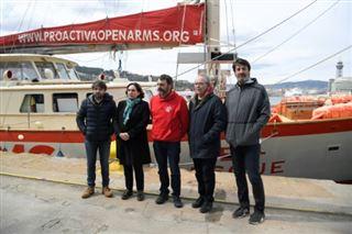 Migrants- la justice italienne séquestre le navire d'une ONG espagnole