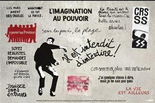 Slogans de mai 68 en France- la part belle à l'impertinence