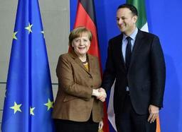La question de la frontière irlandaise reste problématique, selon Merkel