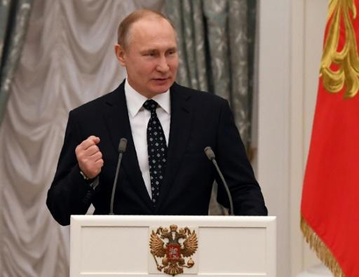 Dopage: Poutine promet de continuer à défendre