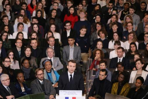 Macron célèbre