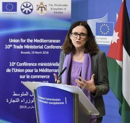 Taxes américaines: entretiens à Washington pour la commissaire européenne Malmström