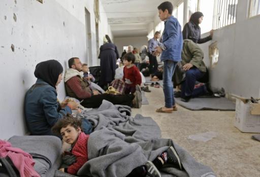 En Syrie, des conditions