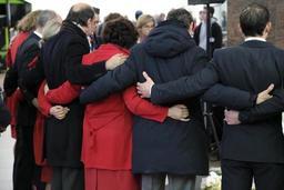 Les familles des victimes fortement déçues par la cérémonie à l'aéroport de Bruxelles