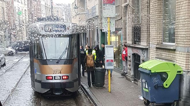 Que s'est-il passé ce matin dans le tram 97 de la STIB?