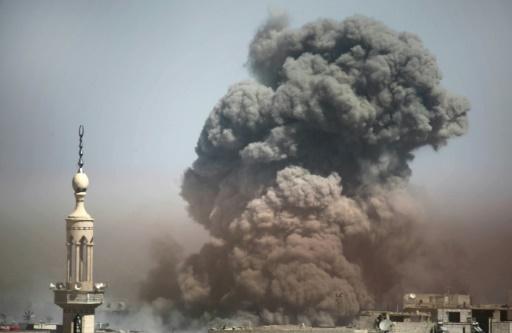 Syrie: 37 civils tués dans des frappes russes sur la Ghouta selon une ONG