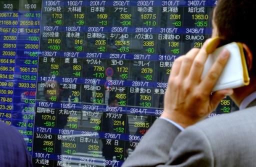 Les Bourses mondiales vacillent face aux tensions commerciales