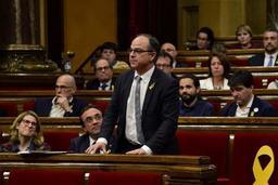 Cinq indépendantistes catalans emprisonnés, dont le candidat à la présidence, Jordi Turull
