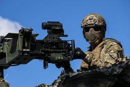 8% de femmes dans l'armée