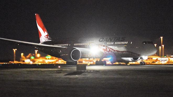 Le premier vol direct sans escale entre l'Australie et l'Europe a décollé de Perth, quand arrivera-t-il à Londres?