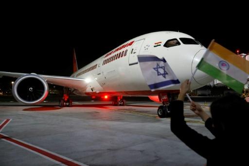 Israël veut plus de vols vers Bombay après une première liaison survolant l'Arabie