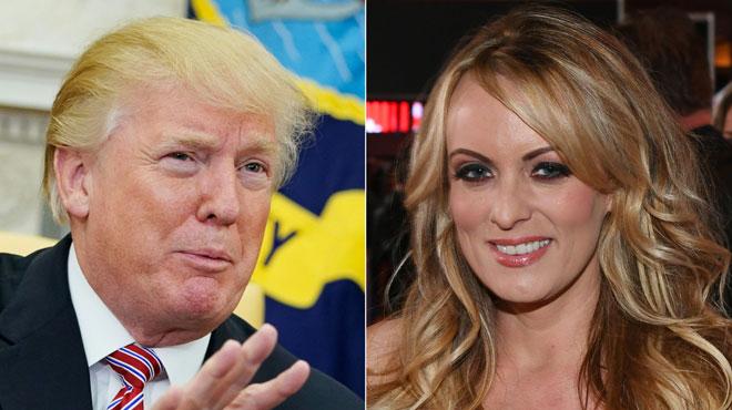Des images des ébats entre Stormy Daniels et Donald Trump? Une photo d'un DVD fait trembler l'entourage du président