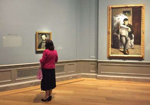 Cézanne, le portraitiste avant-gardiste, exposé à Washington