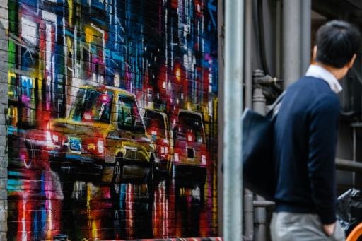 A Hong Kong, l'art de rue explose