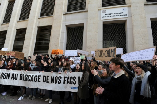 A Montpellier, la tension persiste après des violences à la fac de droit