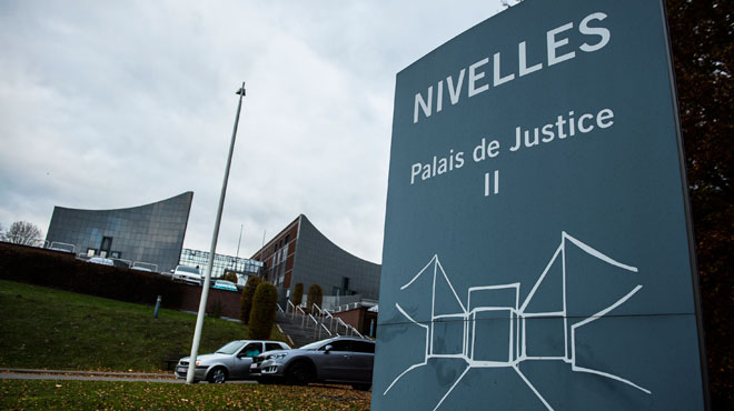 Un détenu bloque volontairement la serrure de sa cellule au palais de justice de Nivelles