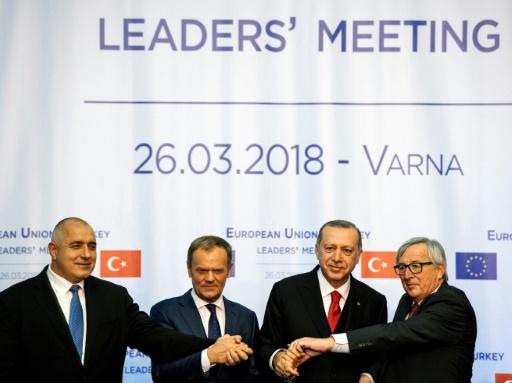 L'UE et la Turquie se parlent mais sans avancées